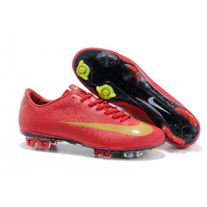 Кроссовки Nike mercurial victory  CR7, красный